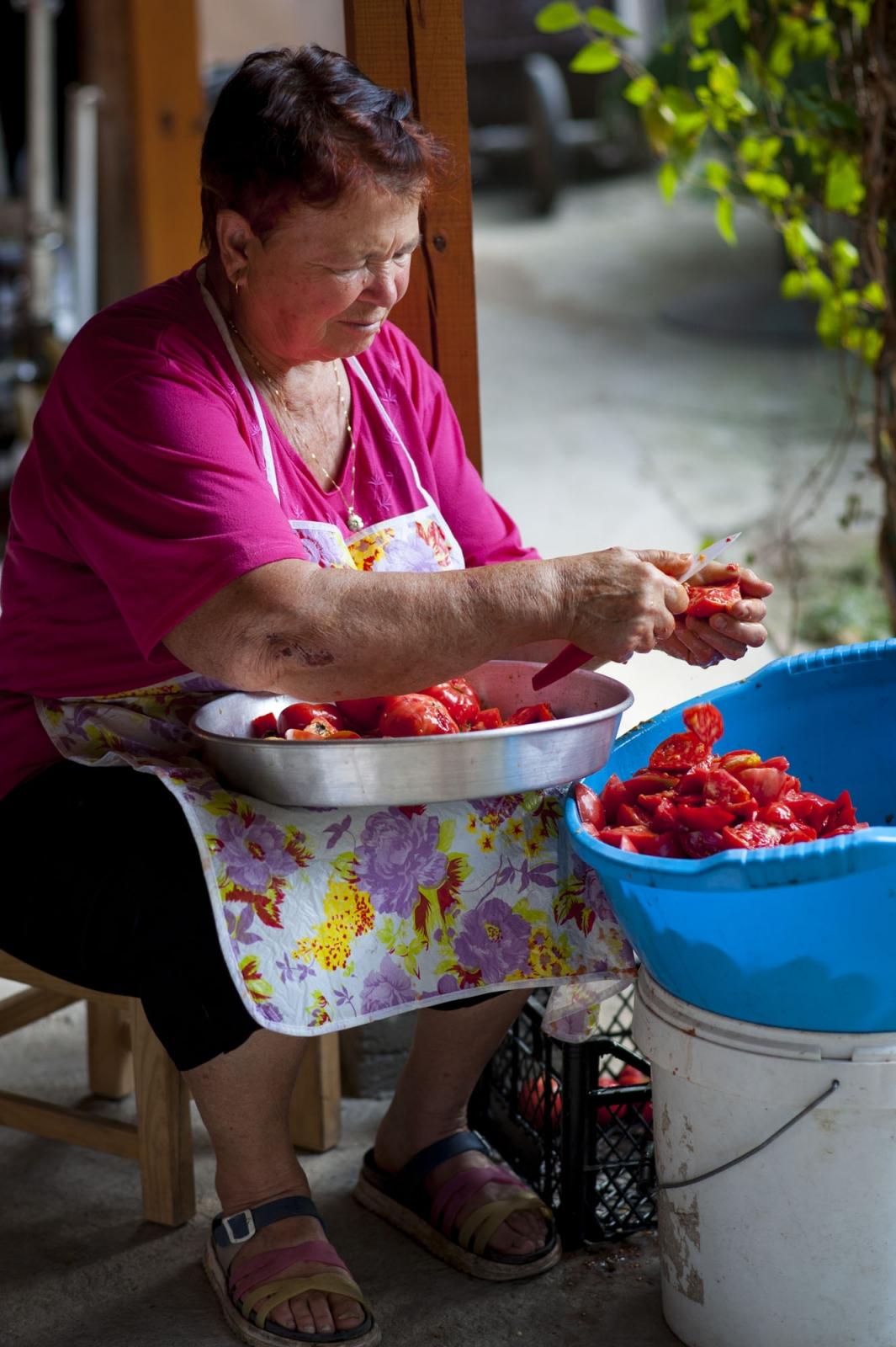 Preparing Lyutenitsa